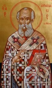 Χαιρετισμοί εις τον Άγιο Αθανάσιο τον Μέγα