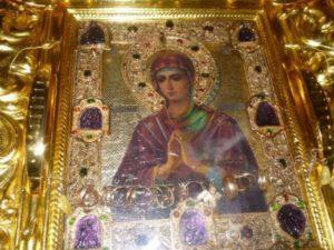 Χαιρετισμοί εις την Παναγία Πραύνουσας καρδίας κακάς