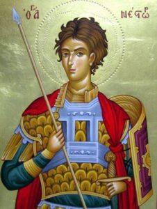 Read more about the article Εγκώμια εις τον Άγιο Μάρτυρα Νέστωρ