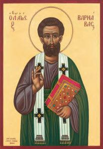 Χαιρετισμοί Αγίου Αποστόλου Βαρνάβα