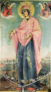 Παράκληση εις την Παναγία Γερόντισσα