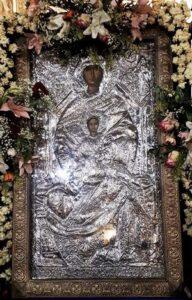 Παράκληση εις την Παναγία Χρυσολεόντισσα