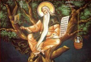 Χαιρετισμοί εις τον Όσιο Δαβίδ τον εν Θεσσαλονίκη