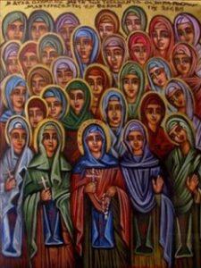 Χαιρετισμοί Πασών των Οσίων Γυναικών